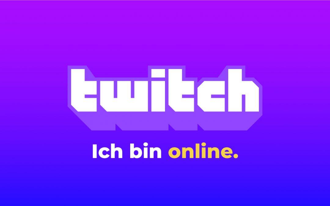 Live auf Twitch