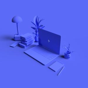 Adobe Dimension 3D-Illustration